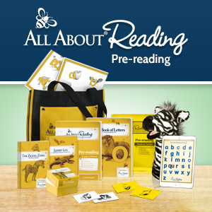 All About Reading Pre-reading