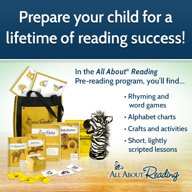 All About Reading: A Multi-Sensory Approach to Reading