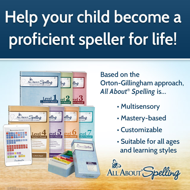 In the Homestretch with All About Spelling Level 7 | Review