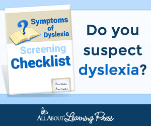Dyslexia Screening Checklist