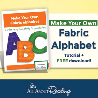 Make Your Own Fabric Alphabet