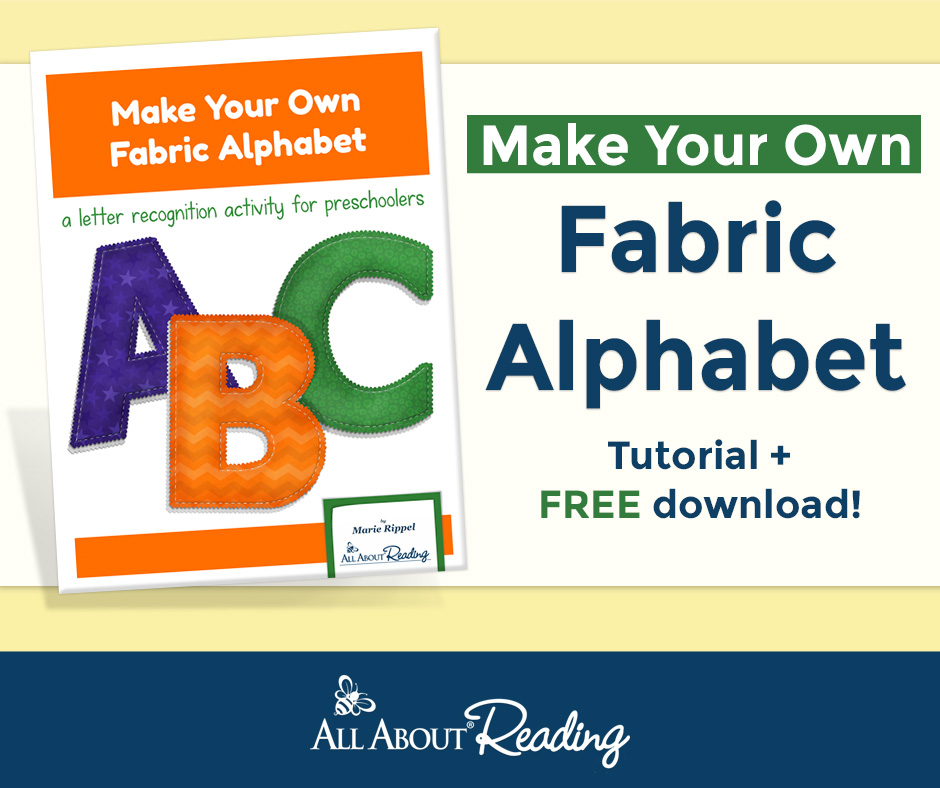 Make Your Own Fabric Alphabet