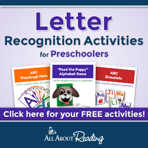 Preschool Letter Recognition