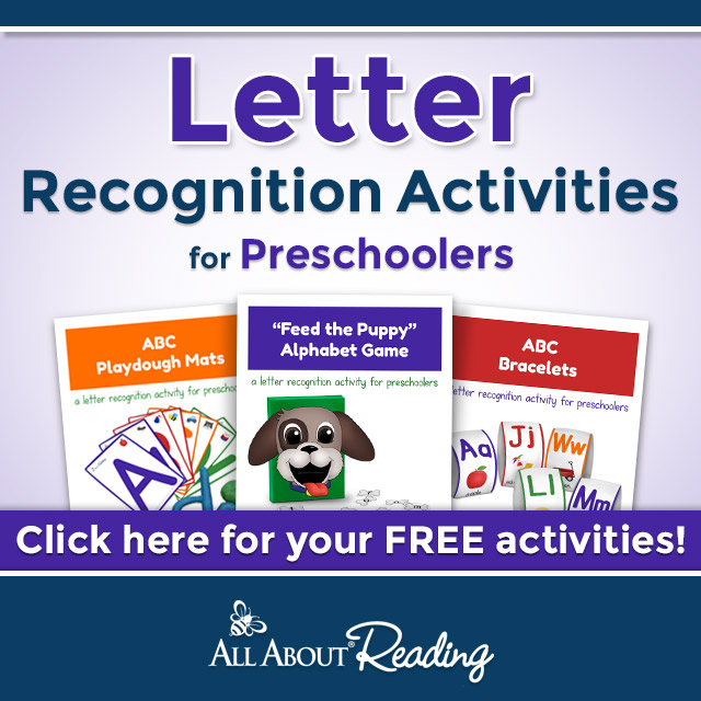 Preschool Letter Recognition - Homeschool Preschool Curriculum