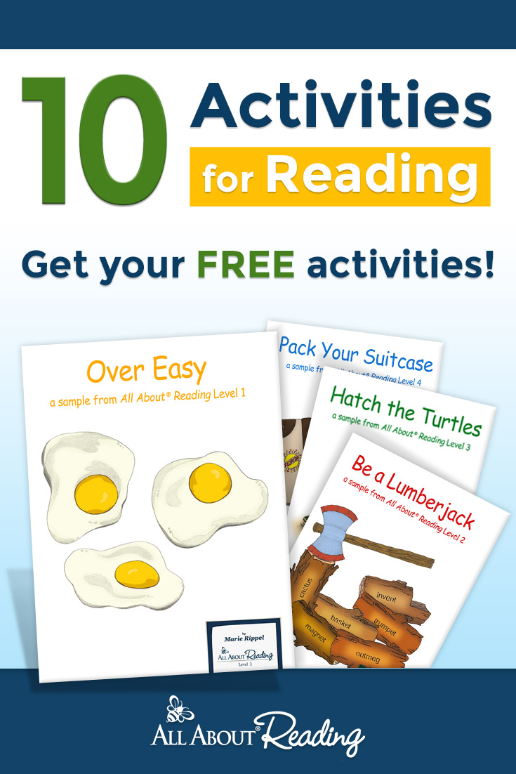 10 Reading Activities - Reading Activity Bundle