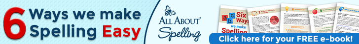 Six Ways We Make Spelling Easy